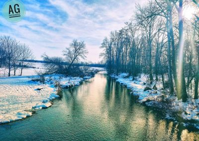 A Flowing River never freezes || by AG Fotography