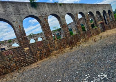 Deserted & Rustic Bricked Establishment with Arched Pattern || by AG Fotography