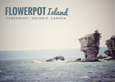 Flowerpot Island, Tobermory, Ontario || by AG Fotography