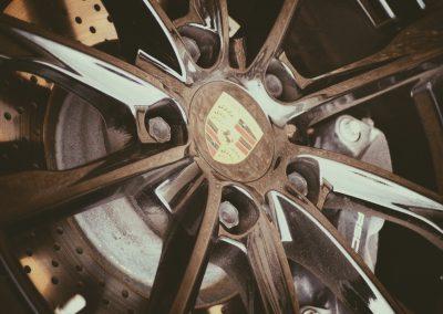 Porsche Chrome Rim || by AG Fotography